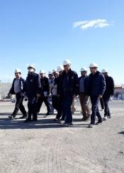 بازدید از کارخانه فرآوری زغال سنگ طبس
