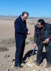 بازدید دکتر جلوداری از معدن چنگوره واقع در استان قزوین
