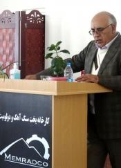 دیدار مدیرعامل با  مدیران، رؤسا و پرسنل مجتمع آهک و دولومیت کرمان