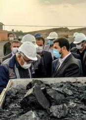 آیین بهره برداری از معدن شماره 5 پروده شرقی شرکت ممرادکو